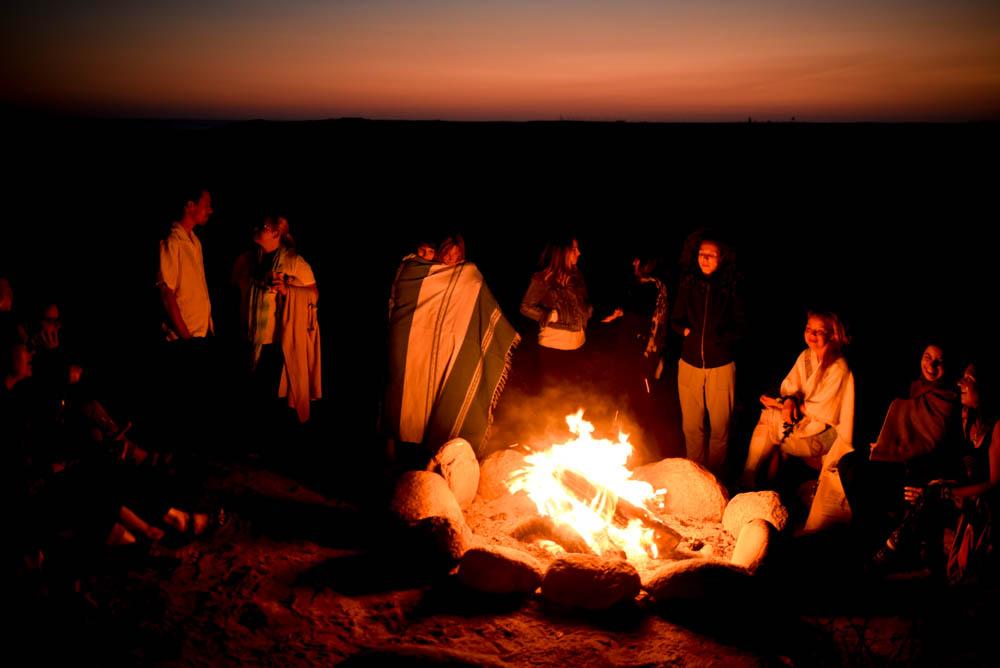 Soul Nourish retreat | 2TPHOTO fire meeting